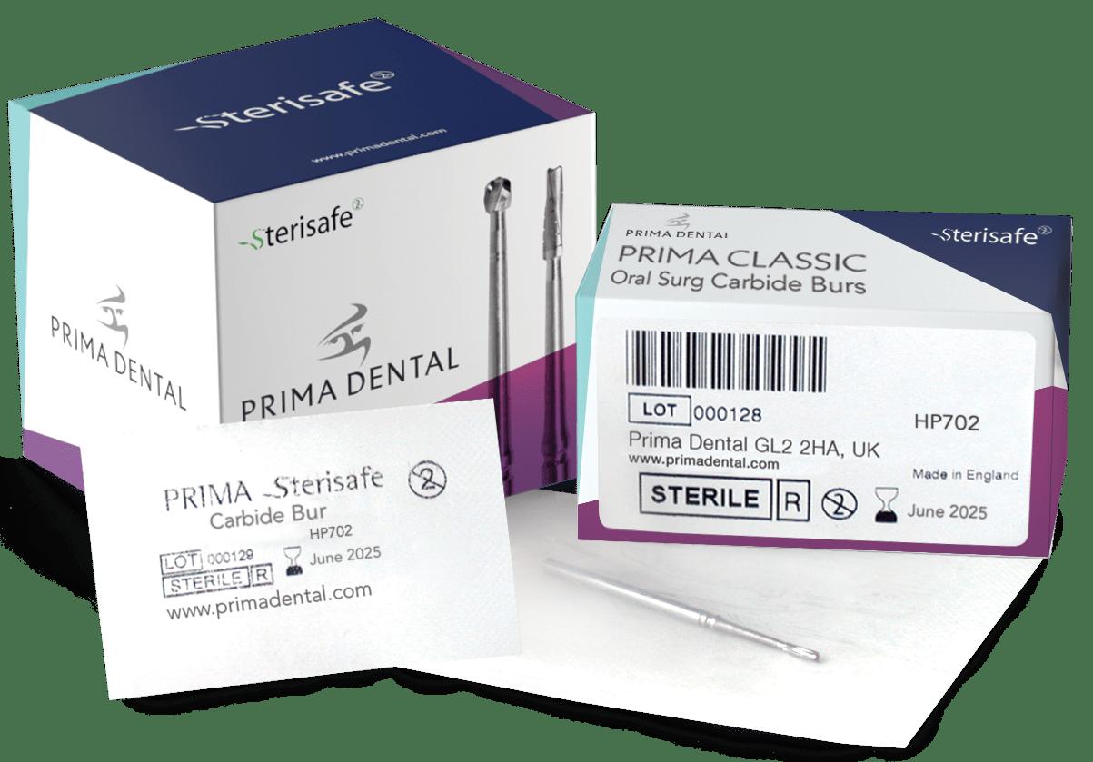 Think safe - go single use Single use sterile burs available now